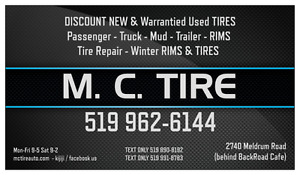 M.C.Tire has moved