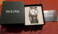 Bulova Mens Diamond watch for buying or swap Great Christmas pre