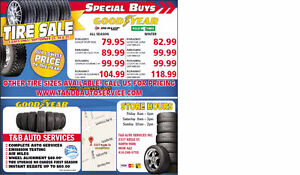 TIRE SALE!! 3 DAYS ONLY - THIS WEEKEND - SEPT 23rd-25th