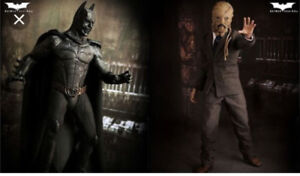 Hot Toys 1/6 Batman Begins Demon Batman & Scarecrow Collectible