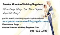 Greater Moncton Wedding Suppliers DJ Cakes Photographers  Decor