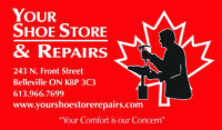 HIRING PART-TIME COBBLER POSITION (WILL TRAIN)