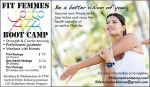 Fit Femmes Boot Camp & Personal Training Kingston Kingston Area image 1