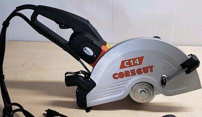 Core Cut C-14 Electric Concrete Saw Masonry Saw Paver Saw 5801601 Wo Blade
