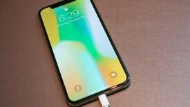 Iphone X.64 gb.grey colour.unlocked