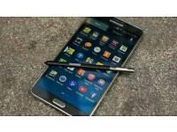 Samsung galaxy note 3 32gb sim free £ 100