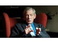 Ian McKellan in person - Sun 27th May London Southbank - SOLD OUT Exclusive Event FACE VALUE