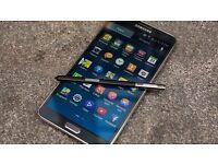 Samsung galaxy Note 3 in Black 32GB Unlocked!