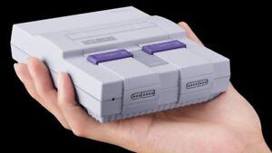 Super Nintendo Classic-free delivery - new in box