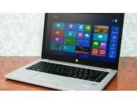 TOP RANGE HP FOLIO 9470M ULTRABOOK LAPTOP- i5- 12GB RAM- BACKLIT KEYBOARD- WINDOWS 10 PRO