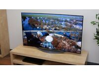Nearly New LG CURVED 3D OLED 55 INCH TV