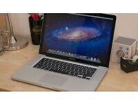 "MacBook Pro 15""; / 128GB SSD / 8GB RAM / Core i7 MINT CONDITION"