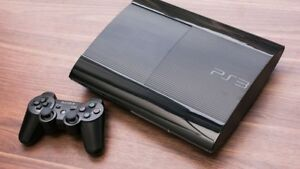 Ps3 super slim with 1 controller and all cords