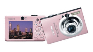 8.0 MP Pink Cannon Powershot