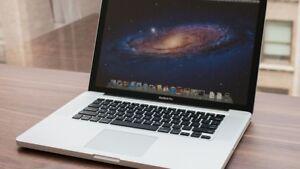 Selling 256GB 15-inch mid-2012 MacBook Pro