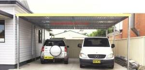 Moving sale , Brand new Flat roof carport 6M long x4M wide Ingleburn Campbelltown Area Preview
