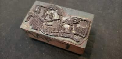 Vintage Letterpress Printers Block Scenery Metal Wood Stamp 2 316x1 316x78