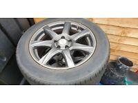 MSW alloy wheels