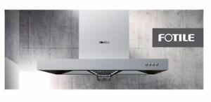 "FOTILE 30"" Powerful stainless steel range hood EH17A (brand new)"