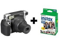Fujifilm Instax 300 Wide Instant Camera Bundle with 100 Shots