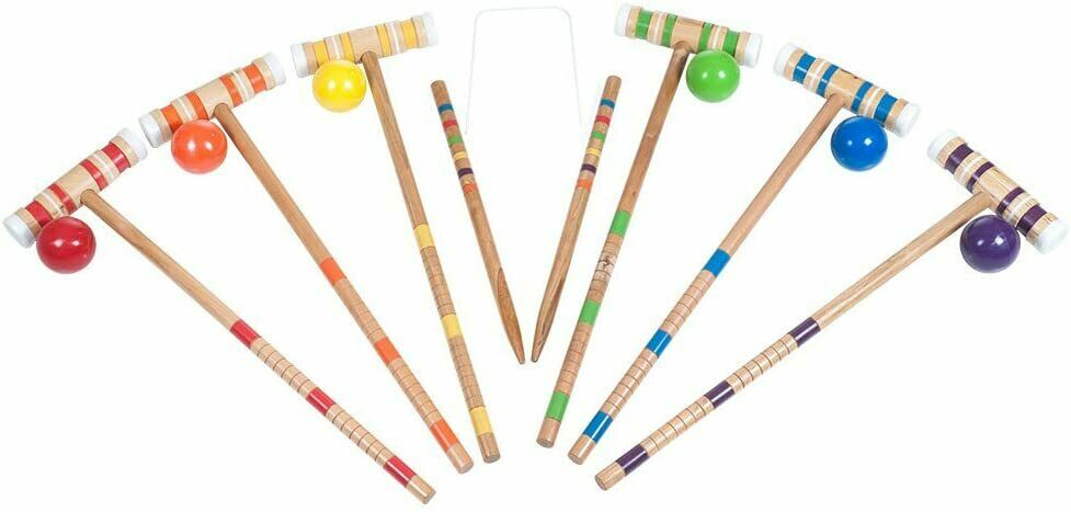 Croquet Complete Set with Carrying Case