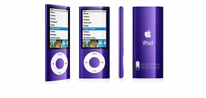 Factory Sealed Apple iPod nano 5th Gen Purple 8GB (Discontinued by Manufacturer)