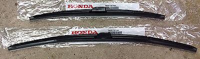 Genuine OEM Honda Accord Front Windshield Wiper Blades 2013 - (Honda Accord Windshield Wiper Blades)