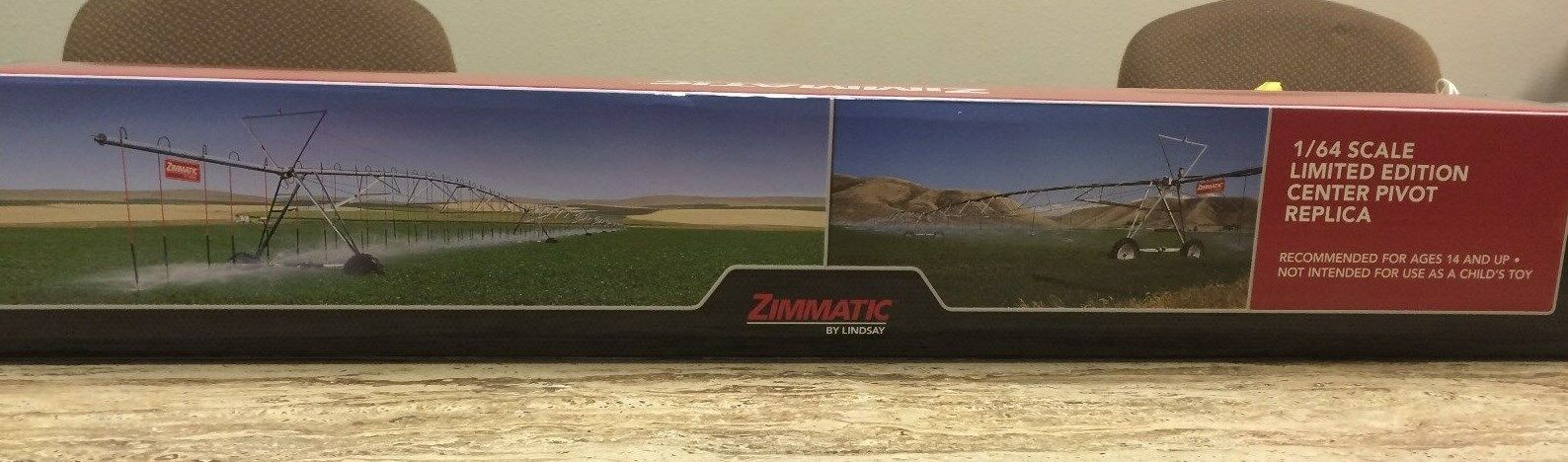 Small Replica Display Pivot Zimmatic Lindsay Metal Resin