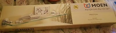 Preston Glass Shelf - NIB Moen Preston Glass Shelf/Chrome