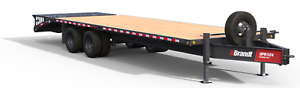 Brandt 30' Dually Pintle Trailer: 11-Ton Series