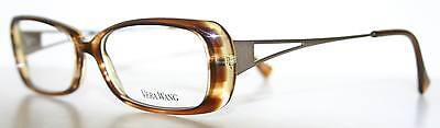 VERA WANG V175 TABAC New Designer Eyeglass Frame For Women Italy
