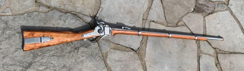"NEW Denix Replica Civil War Sharps 1859 Military Rifle Gray Finish 49.25"" Long"