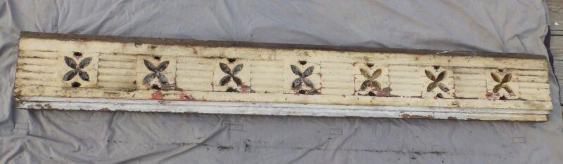 Antique Victorian Porch Gingerbread Span Vintage Architectural Pediment 2027-16