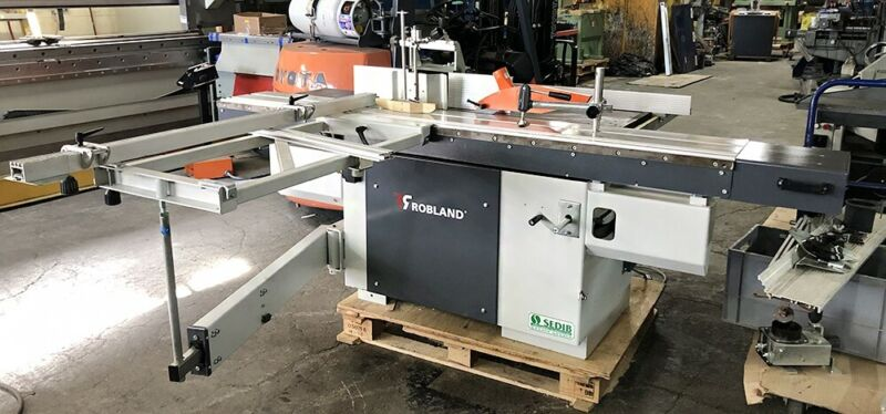 WOW! ROBLAND NLX 310 COMBINATION SLIDING TABLE SAW / SHAPER WITH SCORING BLADE