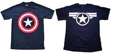 CAPTAIN AMERICA CLASSIC SHIELD STEVE ROGERS costume tee t-shirt S-M-L-XL-2XL XXL