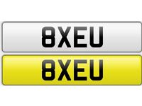 Great number plates bargain