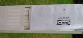 "Venetian Blind in white 140cm (55"") wide by Ikea with 155cm (61"") drop. ."