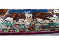 Scenic Picture Silk Carpet