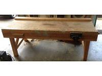 Carpenters Wooden Bech