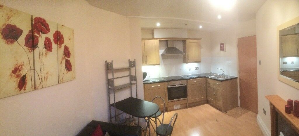 1 Bed Flat Available From May In Bristol City Centre