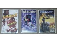 3 Comics , Nightcrawler, Robocop & Driver