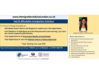 IMMIGRATION SOLICITOR - UK Visa Advice, Tier 2, Tier 4, Spouse Visa, ILR, EEA, PR - FREE Assessment