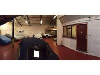 Secure, dry and modern car/bike/vehicle storage near Peterborough, Cambs