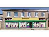 Off licence & Convenience store for lease sale + 2 Bedroom flat @ Peterborough