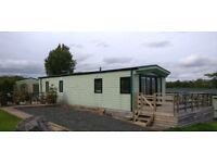 static caravan BK Sherborne 2013 2 bed rooms Appleby Wild rose -excellent pitch with views