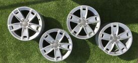 """17"""" set Genuine AUDI alloy wheels pcd 5x112 Audi, Caddy , Golf"""