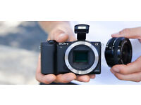📷SONY ALPHA 5100 a5100 🔹 128GB 🔹 NFC GPS WIFI Mirrorless Camera 24MP APS-C DSLR 📷
