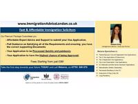 IMMIGRATION SOLICITOR - UK Visa Advice, Spouse Visa, Tier 2, Tier 4, EEA, PR, ILR - FREE Assessment