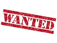 Second hand furniture wanted. Wardrobes , sofas, chests:..