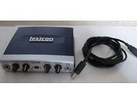 Lexicon Alpha External USB Audio Card